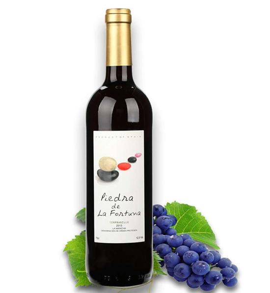 西班牙原瓶进口红酒疯狂幸运石干红葡萄酒正品 750ml