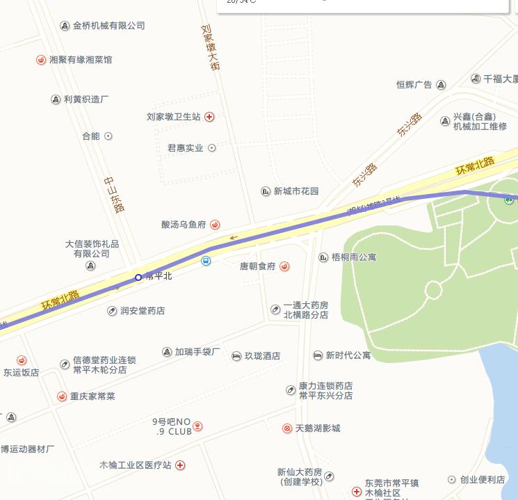 东莞3号线常平北站具体位置